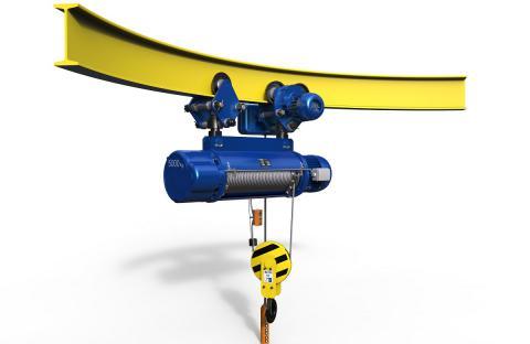 4,高长规格电动葫芦电动小车采用双电机驱动,运行阻力明显减小,运行